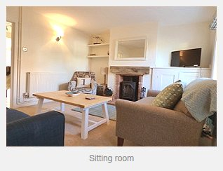 Avocet Cottage Sitting Room